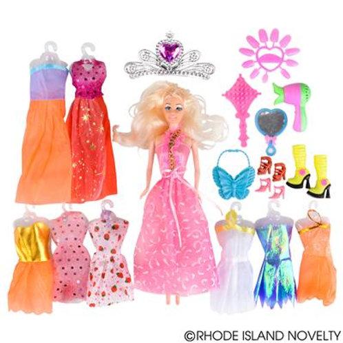 "Toy 21X18"" Doll Set"