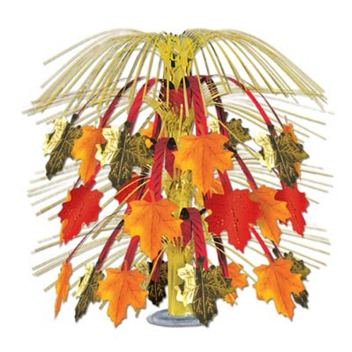 Thanksgiving Centerpiece Leaves of Fall
