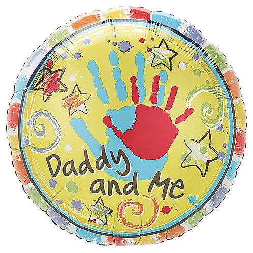 "Balloon Foil 18"" Daddy & Me"