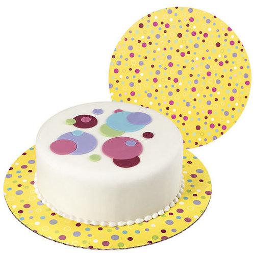 Cake Board Sweet Dots 3Ct