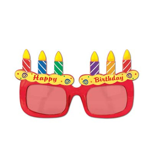 Birthday Candle Fancy Frame Glasses
