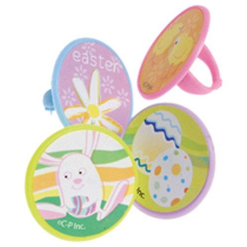 Easter Rings 48 Pcs