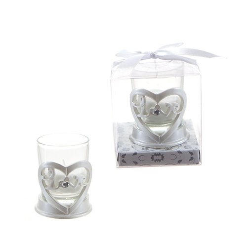 Candle Favor Love Heart