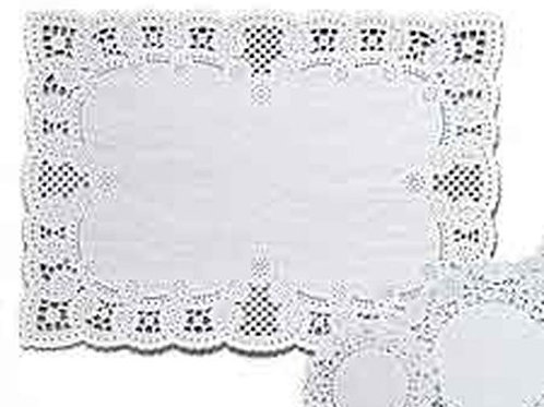 10X14 In Placemat White