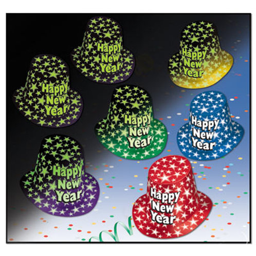 Glow In The Dark Happy New Year Top 1CT