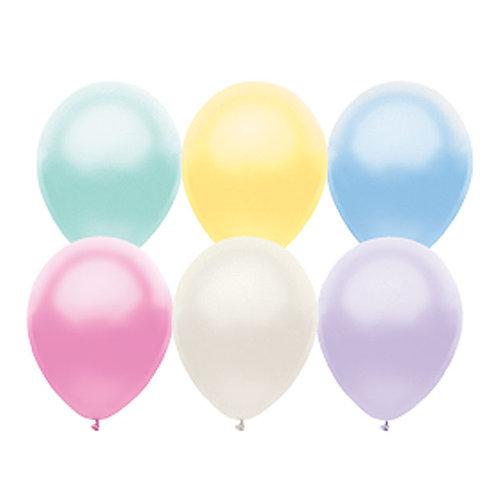 """Balloon Latex 11""""Pearl Asst 100C"""