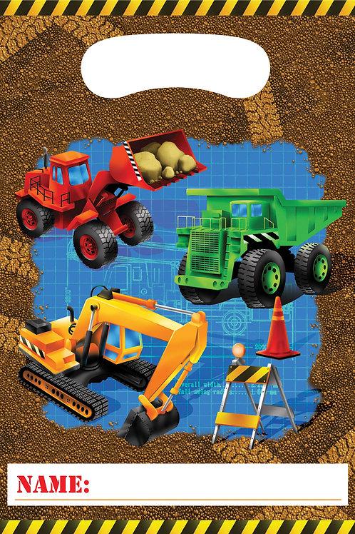 Construction Loot Bag (8ct)