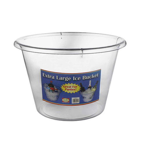 Ice Bucket Xl - Clear 10Qt