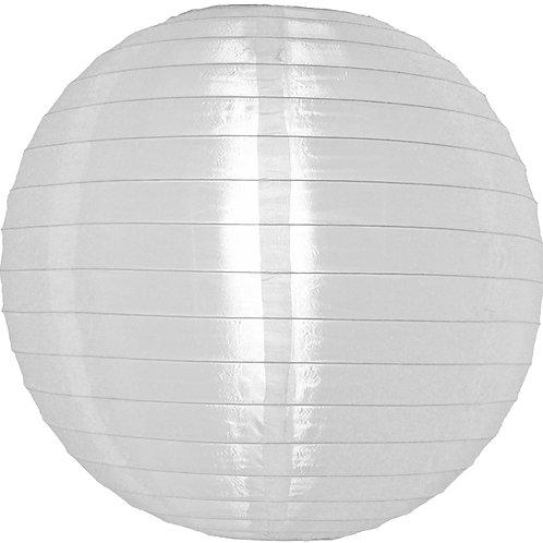 """Lantern Nylon 12"""" Round White"""