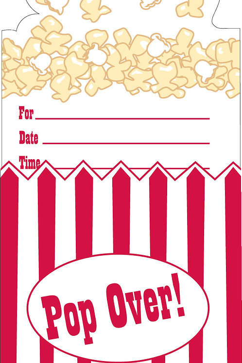 Reel Hollywood Invitation