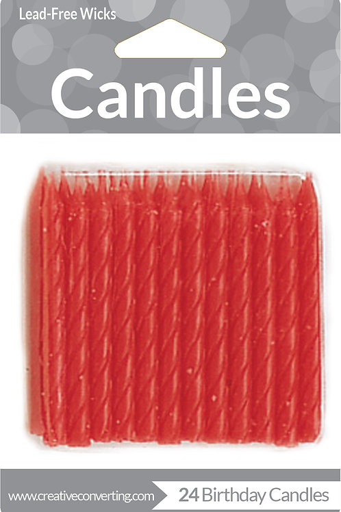 Candles Red (24ct)