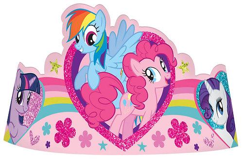 My Little Pony Paper Tiara (8Ct)