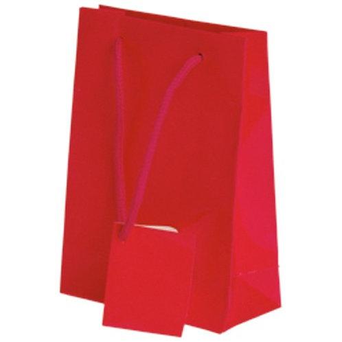 Small Gift Bag Magenta 12Ct