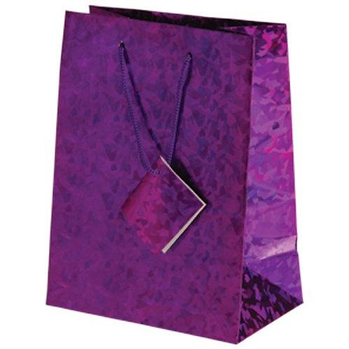 Bag Gift Large  Metallic Purple