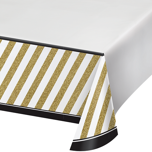 Black and Gold Tablecover