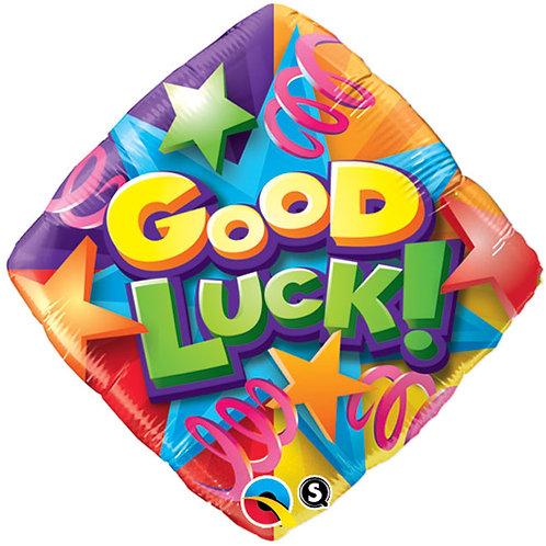 """Balloon Foil 18"""" Good Luck Star"""