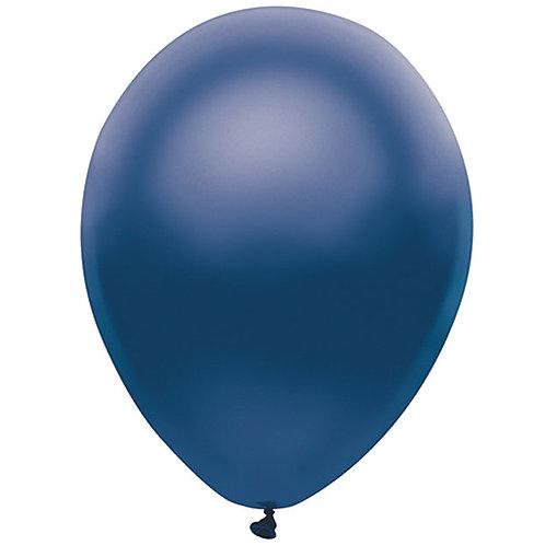 "Balloon Pearl Navy 11"" 100Ct"