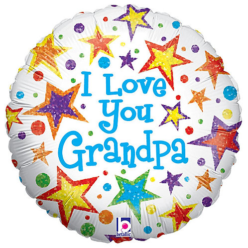 "18"" Balloon Grandpa Love"