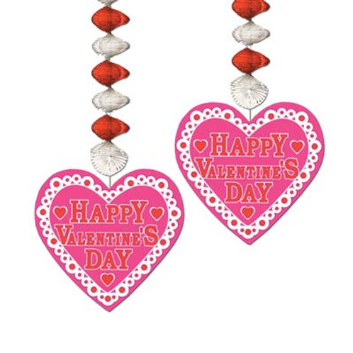 "Valentine's Heart Danglers 30"""