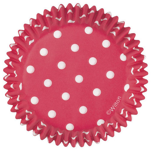 Cup Standard Dots Red 75Ct