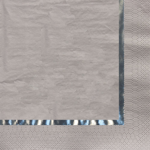Glitz Silver Luncheon Napkin (16ct)
