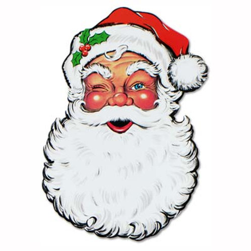 Christmas Santa Cutout