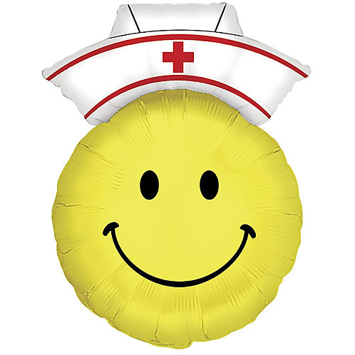"Balloon 28"" Smiley Nurse"