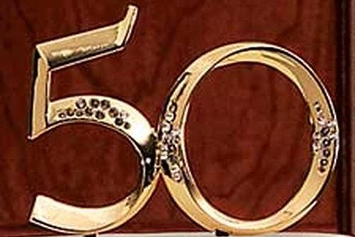 Anniversary Topper 50
