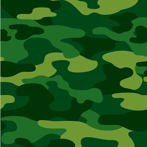 """Army Plastic Tablecover 54""""x108"""""""