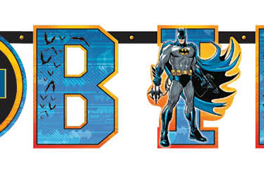 Batman Add-An-Age Letter Banner