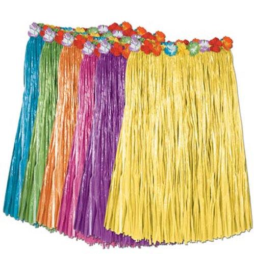 Adult Grass Hula Skirt Assorted Colors