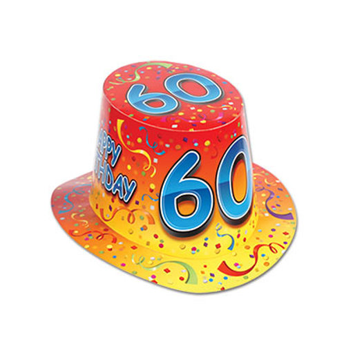 60th Birthday Hat Top