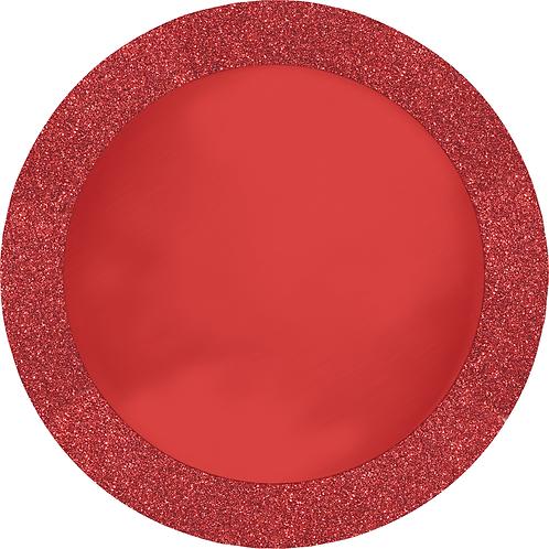 Glitz Red Place Mat 8ct