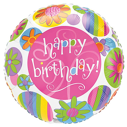 "Balloon 9"" Birthday Bloom"