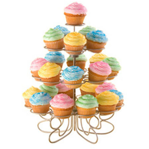 24Ct Mini Cupckes N More Stand