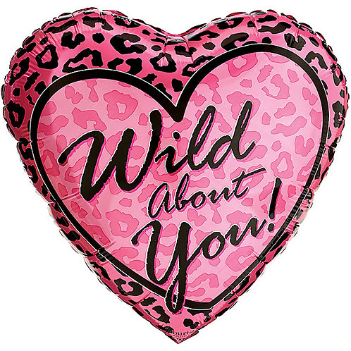"""Balloon Foil 18"""" Wild About You!"""
