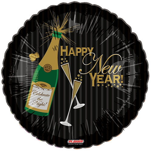 "Balloon 18"" Sparkling New Year"
