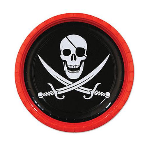 """Pirate Plate 7"""""""
