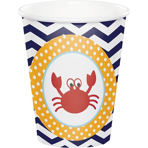 Ahoy Matey Cup 9 oz 8 ct