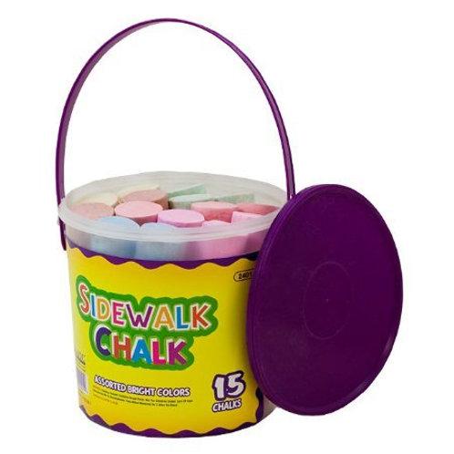 Jumbo Color Chalk (15/bucket)