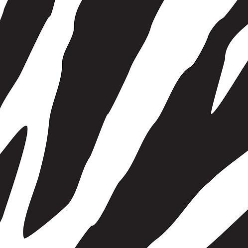 Animal Print Zebra Beverage Napkin (16Ct)