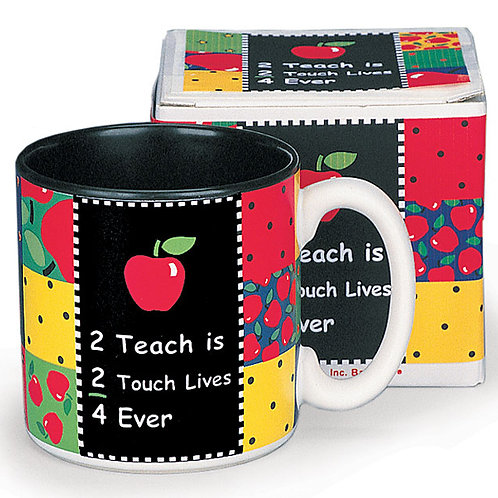 Mug 2 Teacher Is 2 Touch