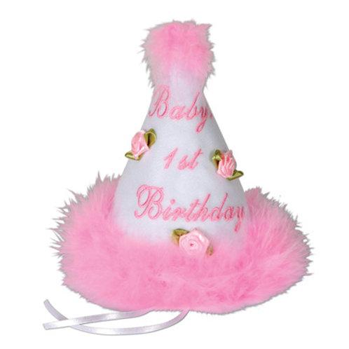 1st Birthday Girl Hat