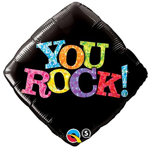 "18"" You Rock Foil Balloon"