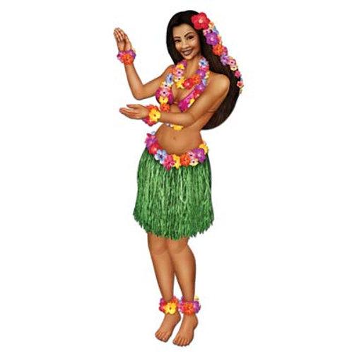 "Decorative Jointed Hula Girl 38"""