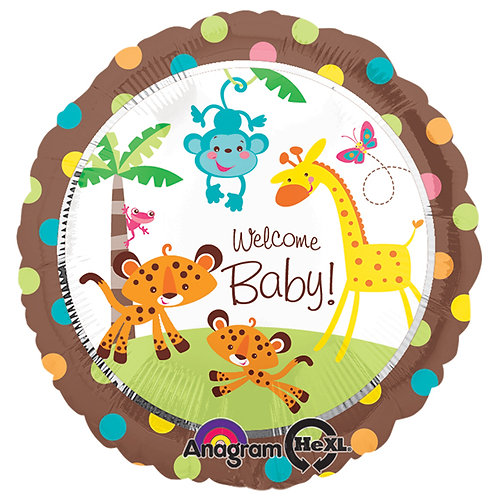 "Balloon Foil 18"" Welcome Baby"