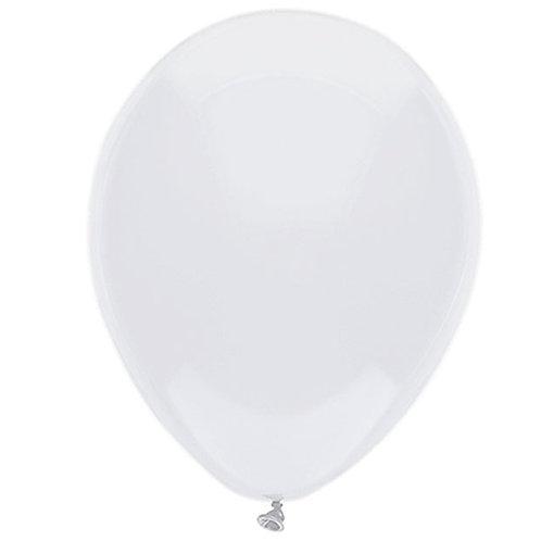"Balloon Latex 11"" White 100C"