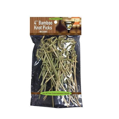 "Picks 4"" Bamboo Knot 100C"