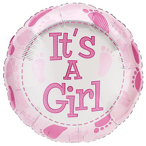 "Balloon Foil 18"" Its A Girl"