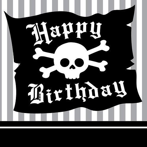 Pirate Party Beverage Napkin (16ct)